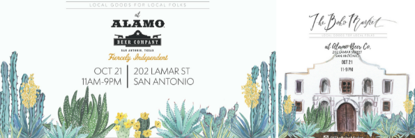 The Boho Market at the Alamo Beer Company
