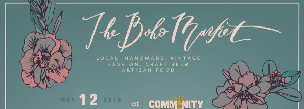 The Boho Market Events page