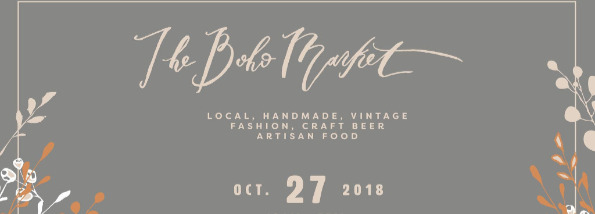 The Boho Market event page